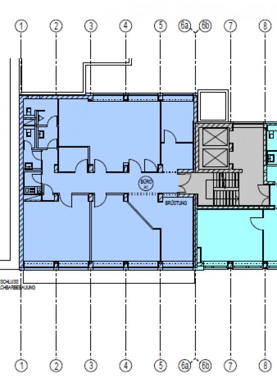 Einzelne Büros oder Büroetage in zentraler Lage in Maxvorstadt - 239m²