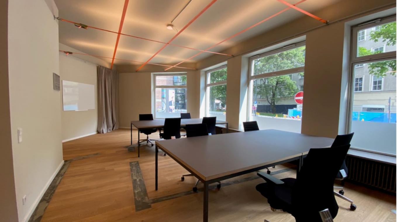 Shared Offices (4 bis 36 Desks mit flexiblen Laufzeiten)