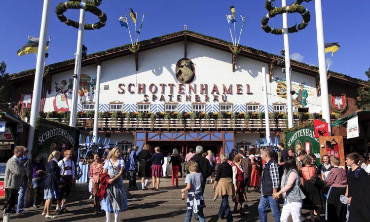 Festzelt Schottenhamel Munich Startup Wiesn-Stammtisch