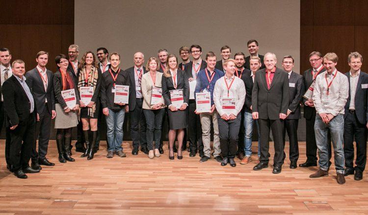 Prämierung des Münchener Businessplan Wettbewerbs 2015 – Phase 1