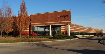 Dienstleistungszentrum der voxeljet AG in Canton, Michigan