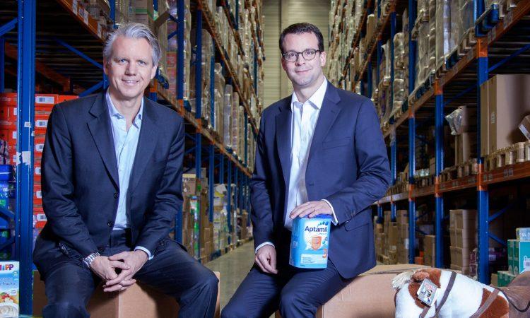 Die Windeln.de-Gründer Konstantin Urban und Alexander Brand (v.l.), Foto: Windeln.de