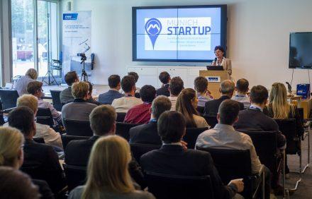 Gabriele Böhmer stellte das Online-Portal Munich Startup vor.