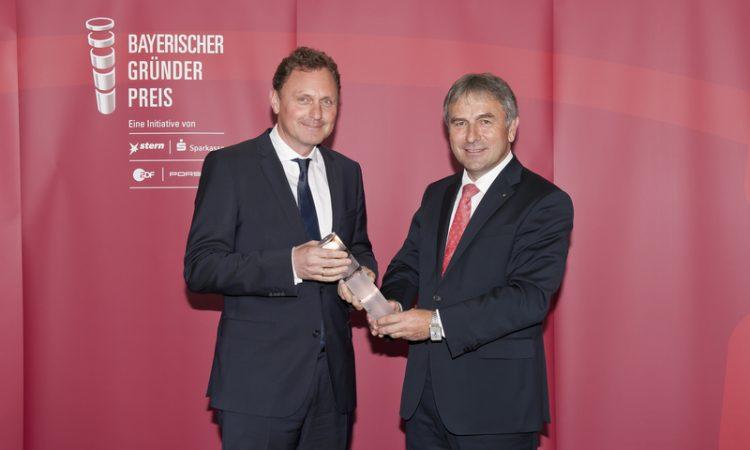 voxeljet gewinnt Bayerischen Gründerpreis 2015