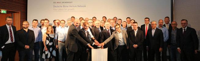 Deutsche Börse stellt Venture Network vor