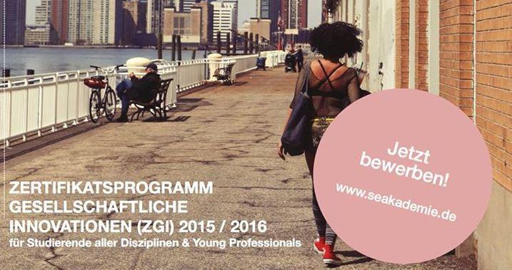 Jetzt bewerben: Zertifikatsprogramm der Social Entrepreneurship Akademie
