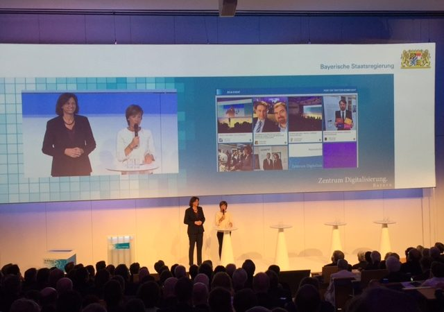 Eröffnung Zentrum Digitalisierung.Bayern