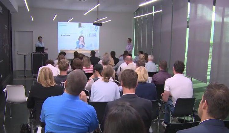 Startups pitchen am Münchner Flughafen