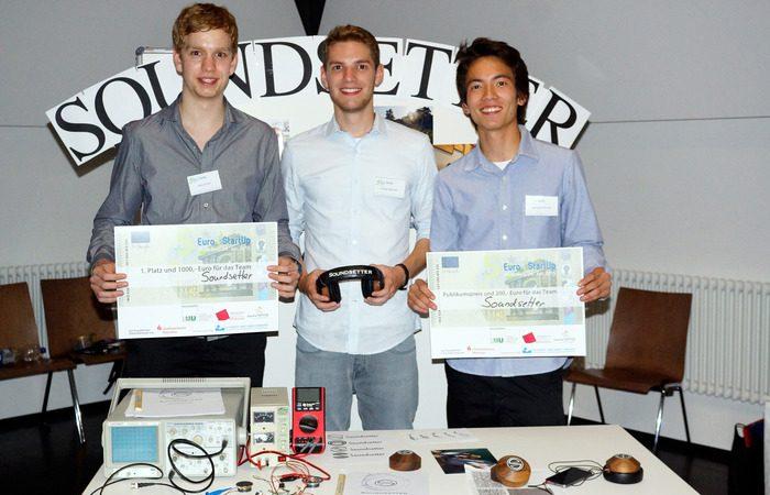 Gewinner des 5 Euro StartUp Wettbewerbs: Soundsetter