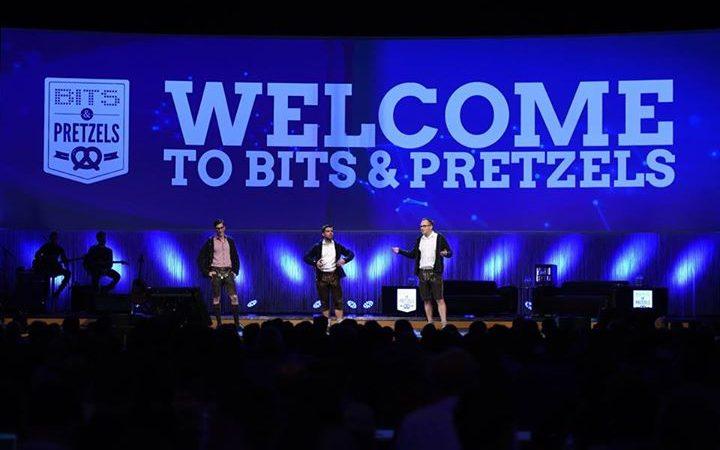 Begrüßung Bits & Pretzels