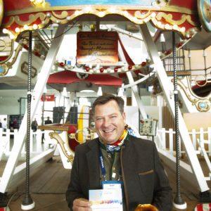 Bürgermeister Schmid auf der Bits and Pretzels 2015