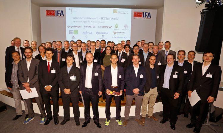 """Münchner Startups räumen beim """"Gründerwettbewerb – IKT Innovativ"""" ab"""