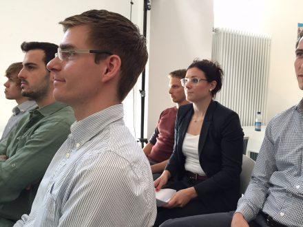 Aufmerksames Publikum bei der Eröffnung des Bavaria Israel Partnership Accelerator