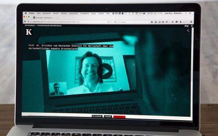 Skype-Interview mit Experten