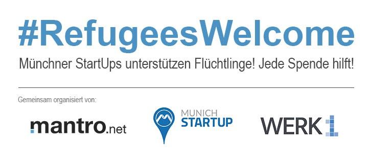 Sammelaktion für Flüchtlinge in München!