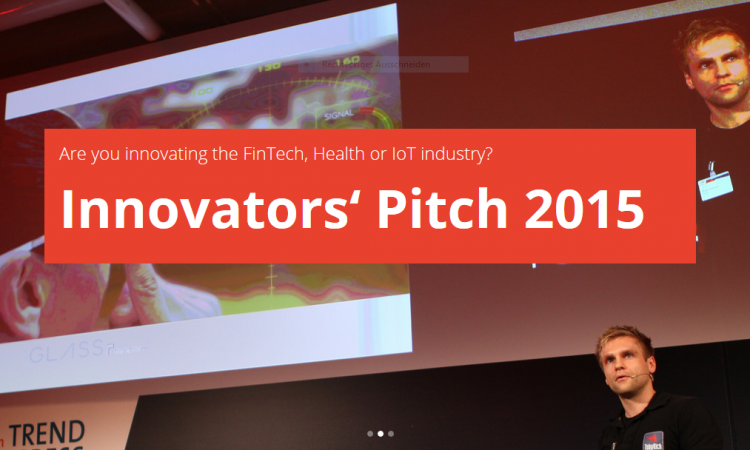 Innovators Pitch Screenshot
