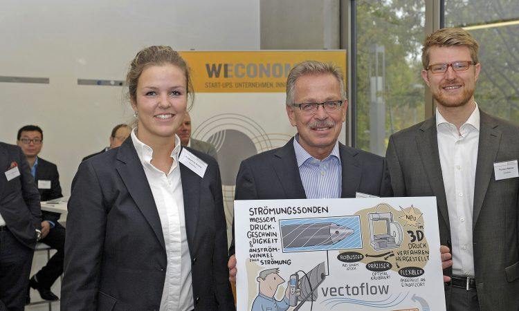 VECTOFLOW gewinnt Preis bei WECONOMY 2015