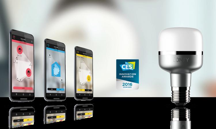 ComfyLight wird mit dem CES Innovation Award  2016 ausgezeichnet