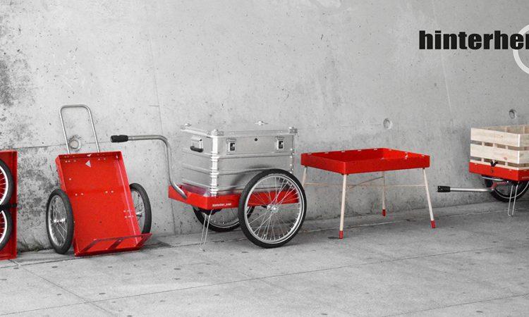 Hinterher.com munich bike trailers