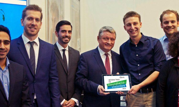 Wittener Preis für Gesundheitsvisionäre 2015 geht an Münchner Startup Glasschair
