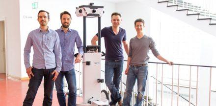 Das Münchner Startup NavVis ist auch am Start (© NavVis)