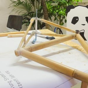Bambus Rahmen