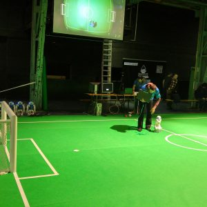 Make Munich 2016 Roboterfußball