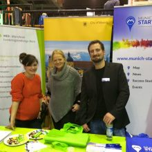 Make Munich_Teamfoto Stand_Copyright M. Sauerhammer