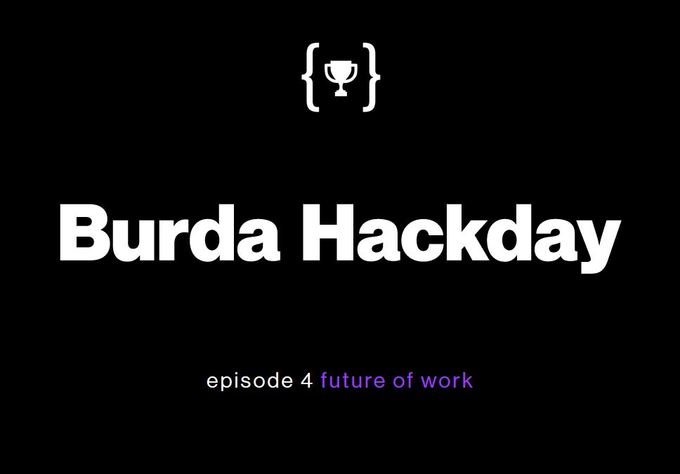 Burda Hackday - Future Of Work vom 22. bis 24. April 2016 bei Stylight in München.