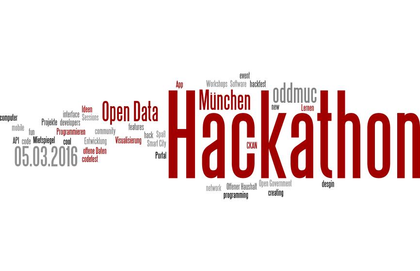 """Am 05. März 2016 ist Open Data Day – weltweit. Die Landeshauptstadt München veranstaltet an diesem Tag gemeinsam mit """"Code for München"""" einen Hackathon."""