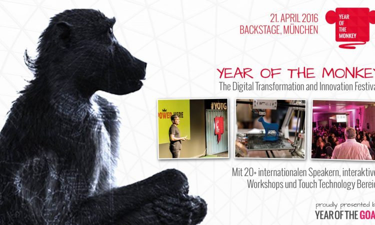 Year of the Monkey – The Digital Transformation and Innovation Festival