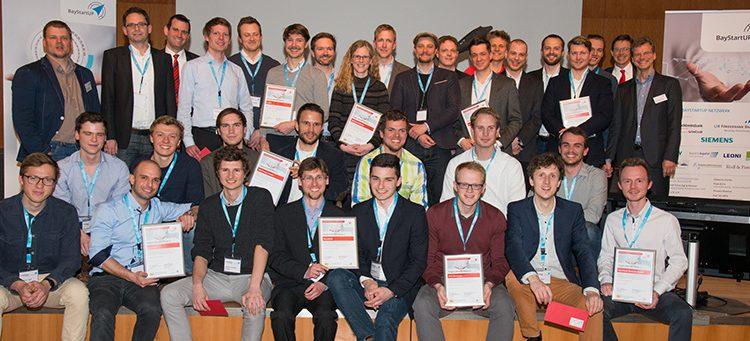 Zehn Sieger in der ersten Phase des Münchener Businessplan Wettbewerbs