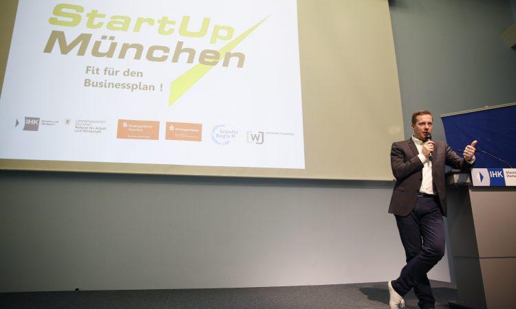 """Gelungener Auftakt für die Veranstaltungsreihe """"StartUp München"""""""