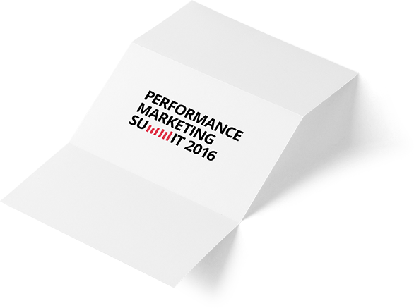 Performance Marketing Summit 2016