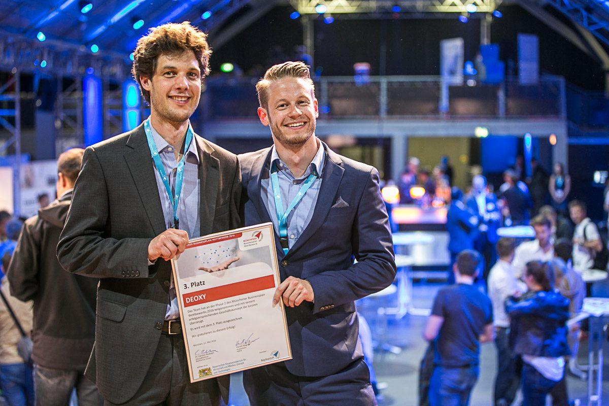 Prämierung Münchener Businessplan Wettbewerb