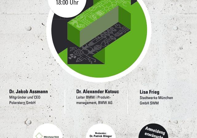 Energiewende – Tu was! Dialogforum 2016 der Münchener Rück Stiftung an der Hochschule München
