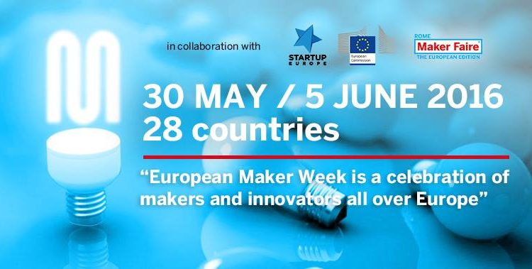 European Maker Week at MakerSpace