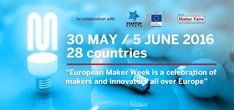 European Maker Week at MakerSpace