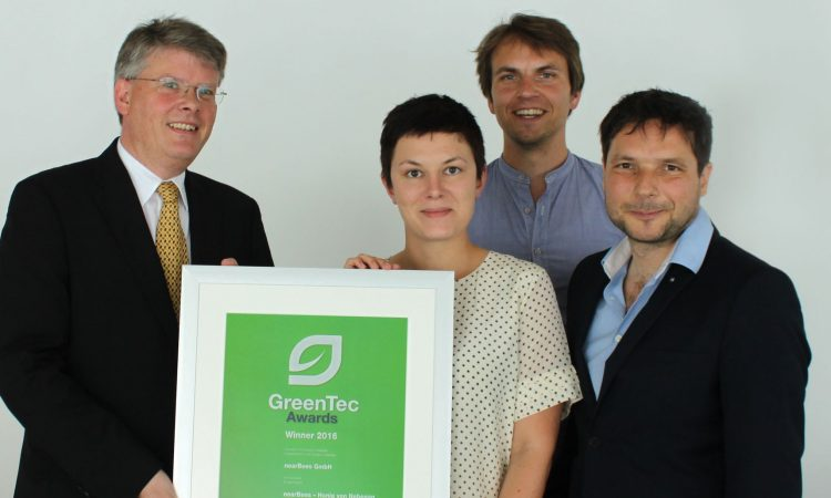 nearBees gewinnt GreenTec Award