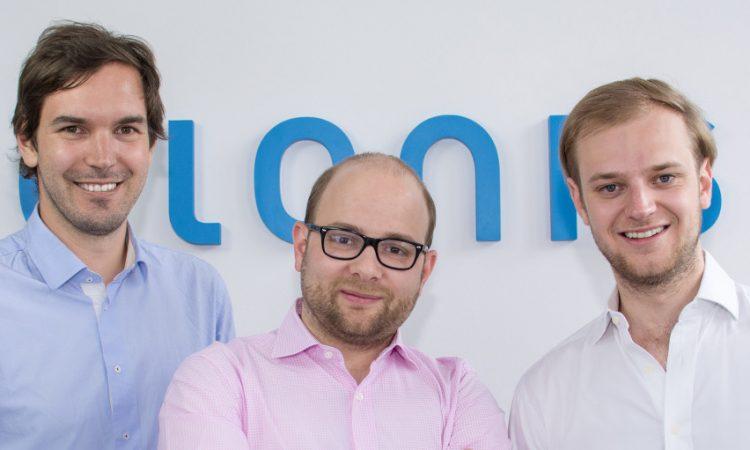 Die Celonis-Gründer Martin Klenk, Bastian Nominacher und Alexander Rinke (v.l.)