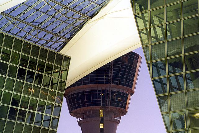 Flughafen München Tower vom MAC