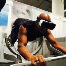 Zum Jahresbeginn 2016 war das VR-Sportgerät auf der CES in Las Vegas zu sehen. (Foto: ICAROS)
