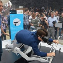 Im Oktober 2015 präsentierte ICAROS seinen damaligen Prototypen auf der EXPO 2015 in Mailand. (Foto: ICAROS)