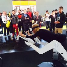 Auf der Fitness-Messe FIBO wurde das Startup mit dem 2. Platz beim FIBO Innovation & Trend Award ausgezeichnet. (Foto: ICAROS)