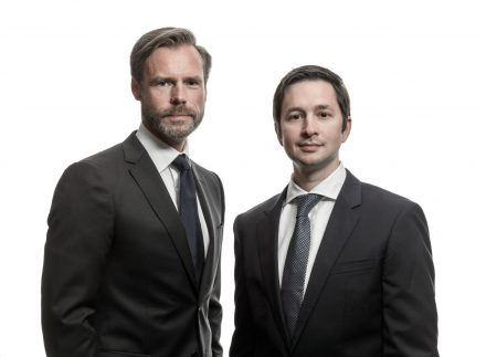 Wolfgang Brand (CFO) und Dr. Andreas Sichert (CEO). © Orcan Energy