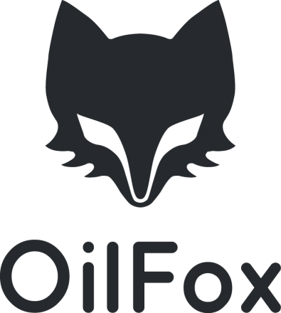 OliFox logo for 3d