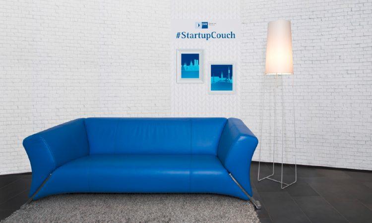 Gründungsexperten auf der IHK Startup Couch bei Bits and Pretzels