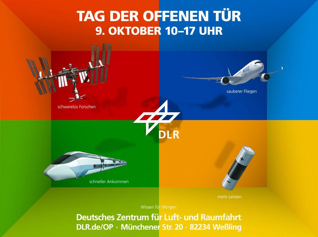 Tag der Offenen Tür beim Deutschen Zentrum für Luft-und Raumfahrt (DLR)