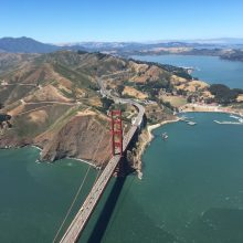 Golden Gate aus der Cessna