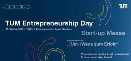 TUM Entrepreneurship Day